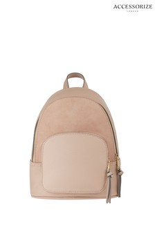 Accessorize Pink Theo Midi Backpack