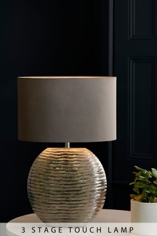 Shimmer Large Touch Lamp