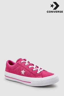 Converse Pink Youth One Star Trainer