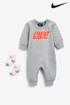 Nike Baby Pramsuit and Sock Set