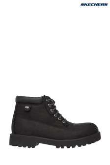 Skechers® Black Sergeants Verdict Shoe