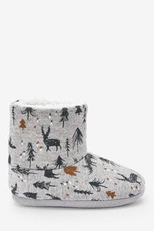Тапочки-сапожки Christmas Nature (Младшего возраста)