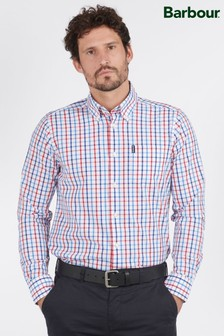 Barbour® Red Tattersall 15 Tailored Shirt