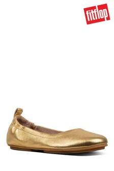 FitFlop Allegro™ Ballerina In Artisan Gold
