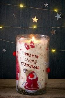 Festive Spice Pillar Candle