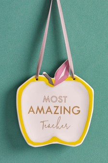 Thank You Teacher Hanging Decoration