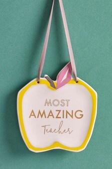Подвесной декор для учителя