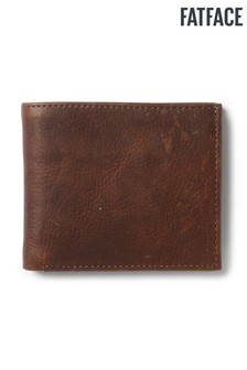 FatFace Chestnut Classic Grained Wallet