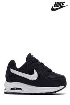 Nike Black/White Air Max Command Infant