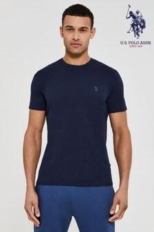 U.S. Polo Assn. Blue Core Jersey T-Shirt