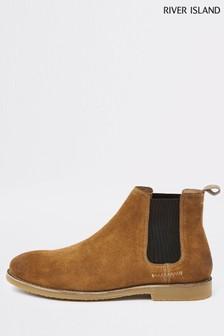River Island Tan Suede Boot