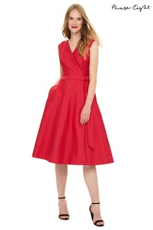 8e6746c0044 Phase Eight Pink Estelle Fit   Flare Dress