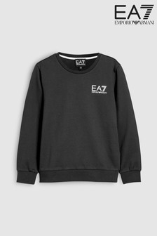 EA7 Black Logo Sweater