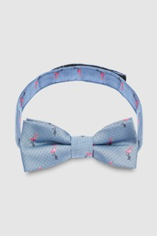 Flamingo Bow Tie (1-16yrs)