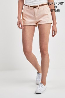 Superdry Pink Chino Short