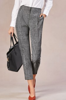 ef65cc761b9 Buy Women s trousers Check Check Trousers from the Next UK online shop