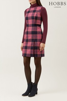 Hobbs Pink Avery Dress