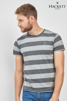 Hackett Grey Striped T-Shirt