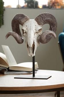 Ram Skull Sculpture