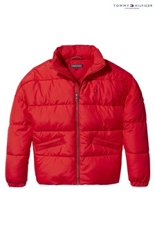 Tommy Hilfiger Red Padded Jacket