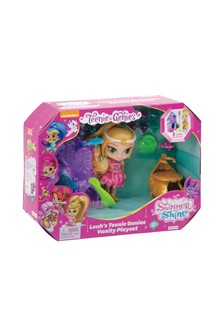 Fisher-Price Shimmer And Shine Leahs Genies Vanity Playset