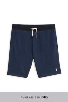 53db2283762 Mens Jersey Shorts | Mens Casual Grey & Blue Jersey Shorts | Next
