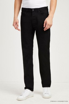 French Connection Black Denim Slim Jean