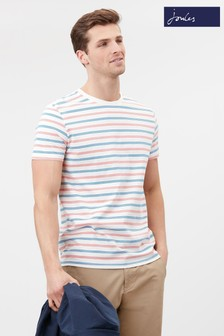 Joules White Boathouse Stripe T-Shirt