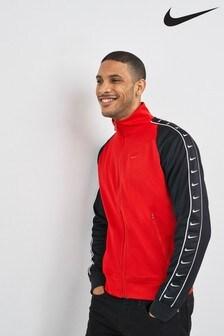 e07dc94aca1a Nike Mini Swoosh Taped Track Jacket