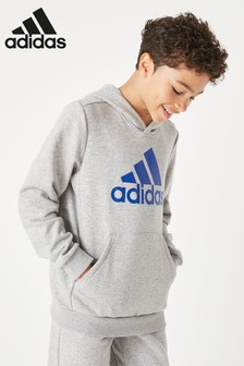 adidas Grey Badge Of Sport Overhead Hoody