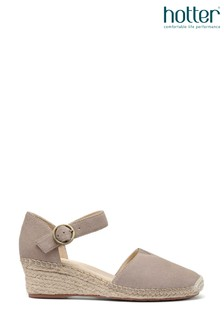 Hotter Pacific Buckle Fastening Wedge Sandals