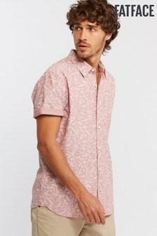 FatFace Pink Ryde Print Shirt