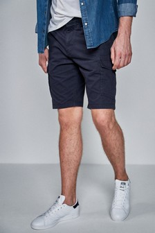 Cotton Military Cargo Shorts