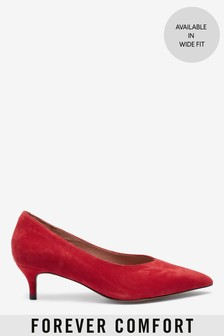 Forever Comfort® Kitten Heel Court Shoes
