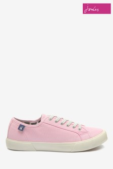 Joules Pink Coast Pump Trainer