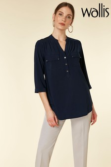 Wallis Ink Longline Shirt