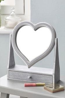 Lusterko w kształcie serca