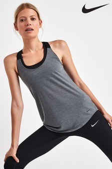 Nike Dri-FIT Grey Elastika Training Tank