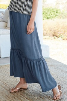 Co-ord Tiered Maxi Skirt