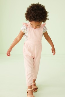 Frill Detail Playsuit (3mths-7yrs)