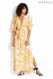 Seafolly Buttercup Sunflower Maxi Dress