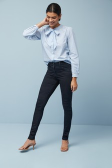 Lift, Slim And Shape Jeans mit engem Schnitt