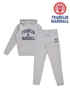 Franklin & Marshall Grey Fleece Jogger Set