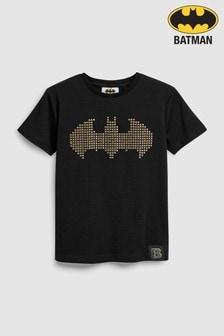 Batman® T-Shirt mit erhabenem Logo (3-14yrs)