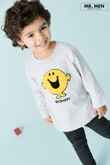 Mr Happy T-Shirt (3mths-6yrs)
