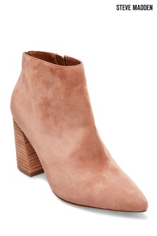Steve Madden Simmer Tan Suede Ankle Boot