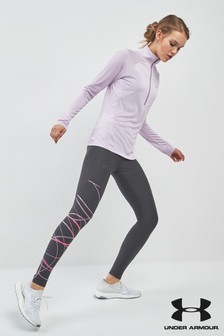 Under Armour Vanish Leggings mit Print, grau
