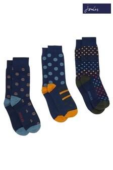 Joules Striking Socks Three Pack