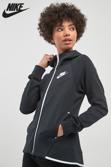Nike Tech Black Fleece Fill Zip Hoody