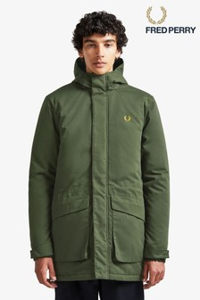 Fred Perry Padded Hooded Coat